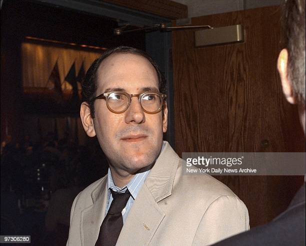 Newsletter writer Matt Drudge at the National Press Club