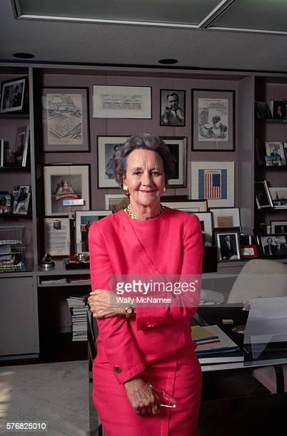 Newspaper Executive Katharine Graham