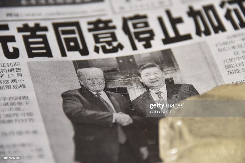 CHINA-US-TRADE-DIPLOMACY : News Photo