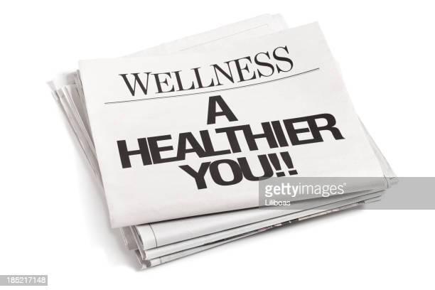 Newspaper Headlines Wellness A Healthier You