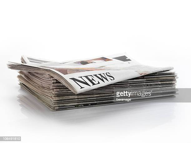 newspaper - stacking stock pictures, royalty-free photos & images