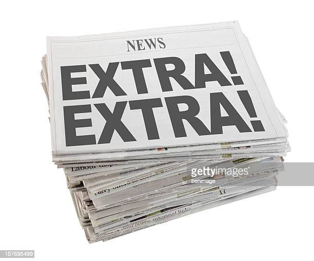 newspaper - western script stock pictures, royalty-free photos & images
