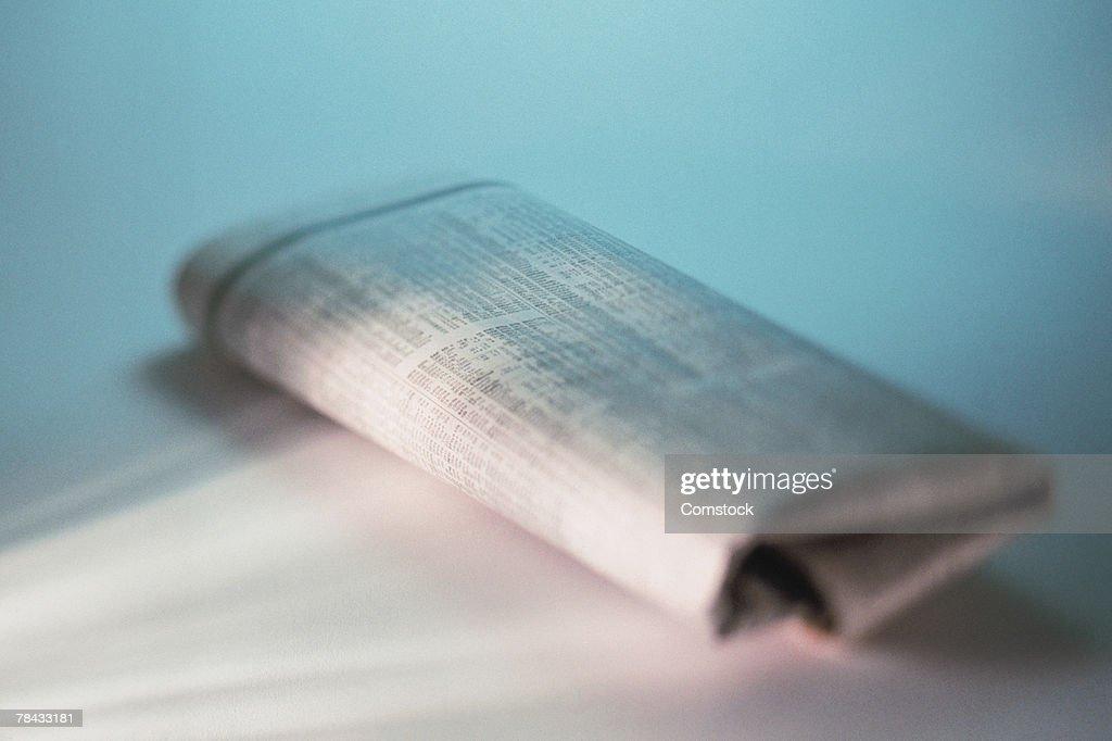 Newspaper : Stockfoto