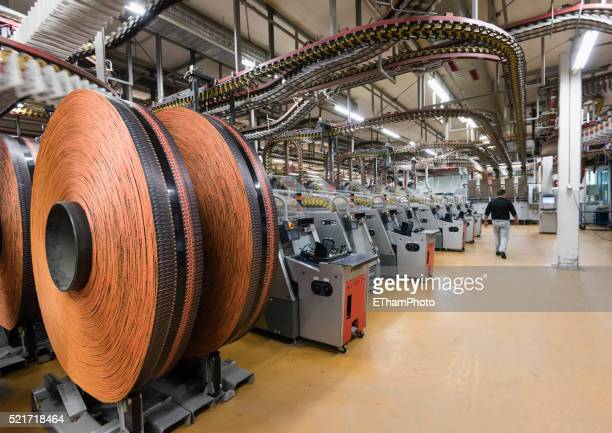 newspaper production at tamedia zurich printing plant - printing zurich stock pictures, royalty-free photos & images