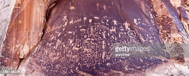 Newspaper Rock Pictograph