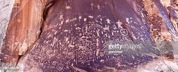 Pictograph de Newspaper Rock