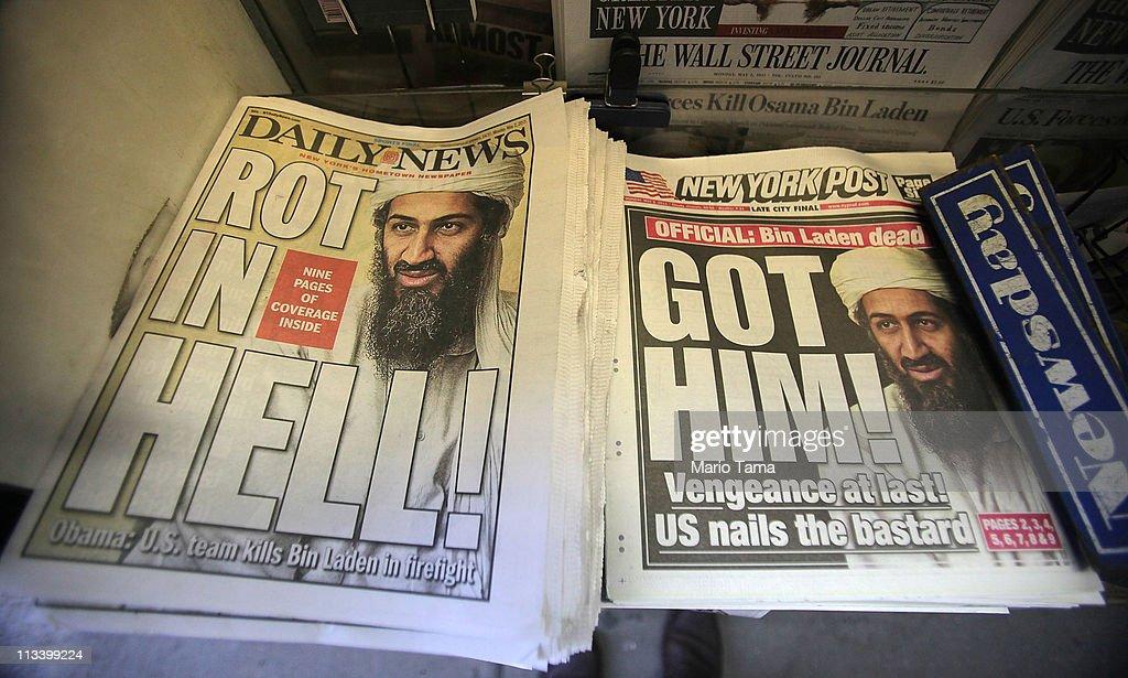 U.S. Reacts To Death Of Osama Bin Laden : News Photo