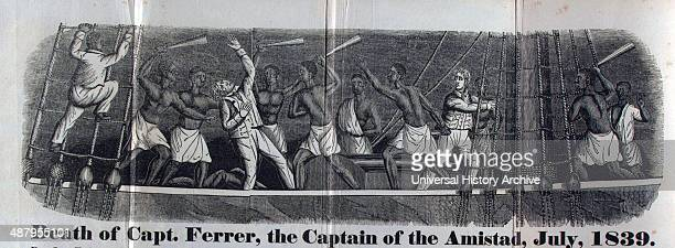 Newspaper's depiction of the Revolt on the Amistad was a small twomastered schooner Built in Spain and based in Havana it moved general cargo along...