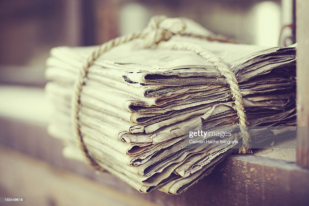 Newspapers : Foto de stock
