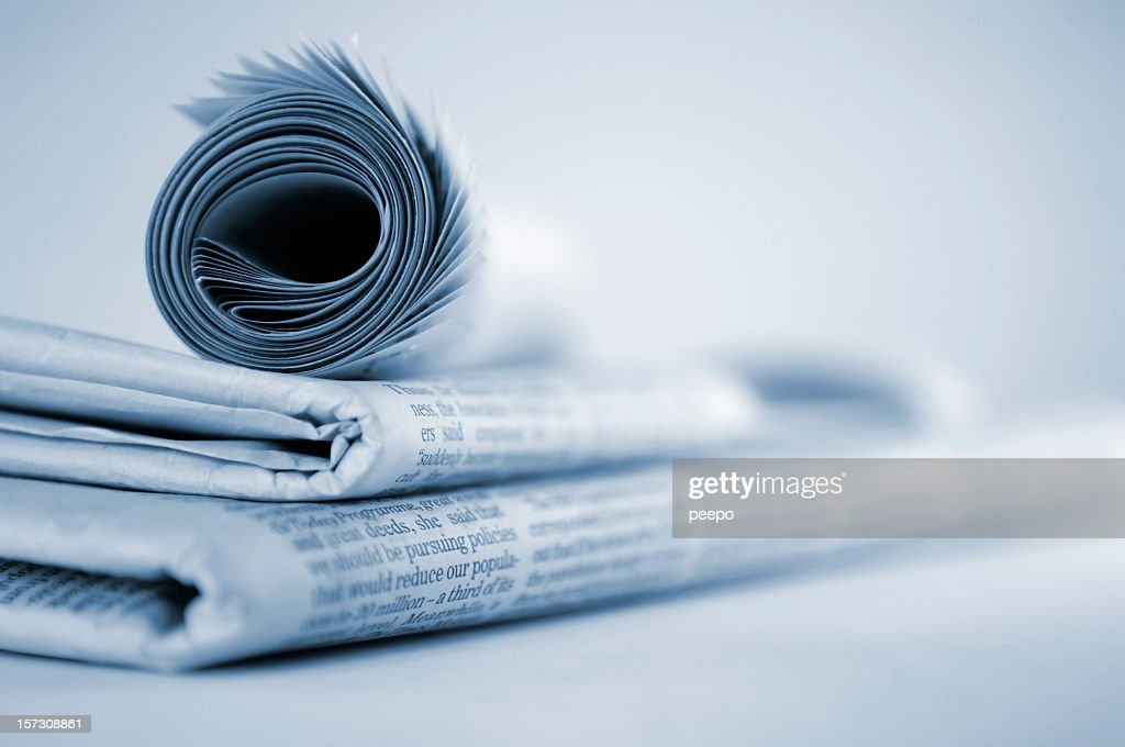 Newspapers : Stock Photo