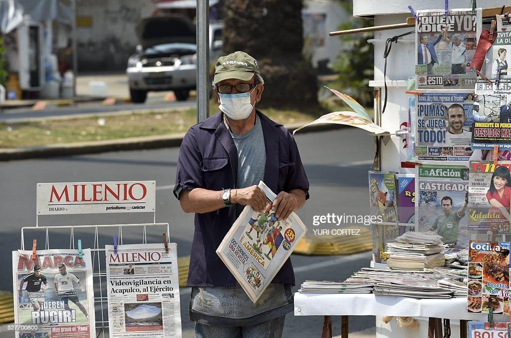 MEXICO-POLLUTION-ENVIRONMENT : News Photo