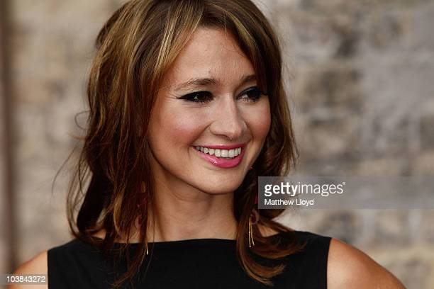 BBC newsreader Ellie Crisell arrives at the National Lottery Awards 2010 held at the Camden Roundhouse on September 4 2010 in London England The...