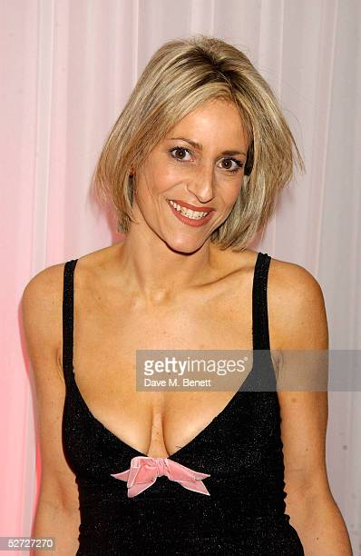 Newsreader Emily Maitlis attends the LaurentPerrier Pink Party in aid of The Prince's Trust at the Sanderson Hotel on April 27 2005 in London