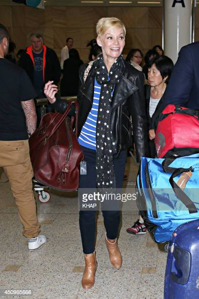 TV newsreader Jessica Rowe sighting on June 20 2014 in Sydney Australia