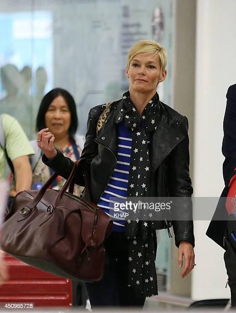 TV newsreader Jessica Rowe sighting on June 20 2014 in Sydney Australia