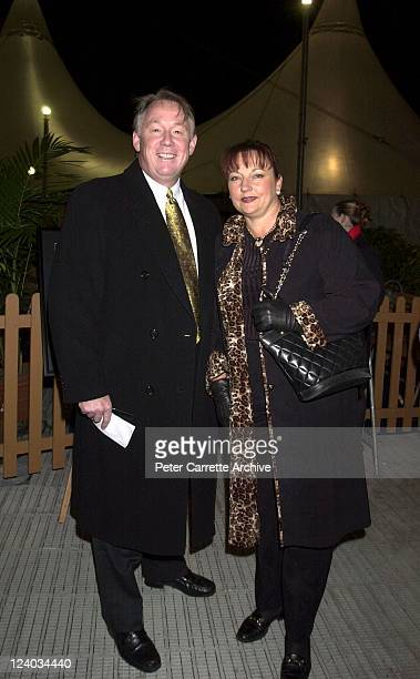 Newsreader Ron Wilson and his wife Helen arrive for the opening night of the Cirque du Soleil production of 'Alegria' under the Grand Chapiteau at...