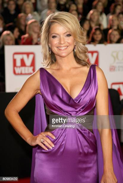 Newsreader Sandra Sully arrives on the red carpet at the 50th Annual TV Week Logie Awards at the Crown Towers Hotel and Casino on May 4 2008 in...