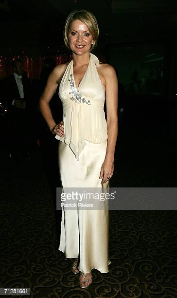 TV newsreader Sandra Sully attends the Dancing With The Charities event at Le Montage on June 23 2006 in Sydney Australia