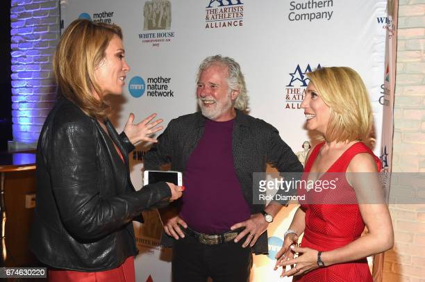 CNN Newsroom Anchor Brooke Baldwin Rolling Stones pianist and musical director Chuck Leavell and CNN journalist Dana Bash Businessman Kevin O'Leary...