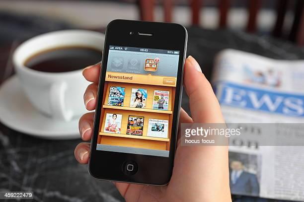 Jornais e Revistas em Apple iPhone 4 da