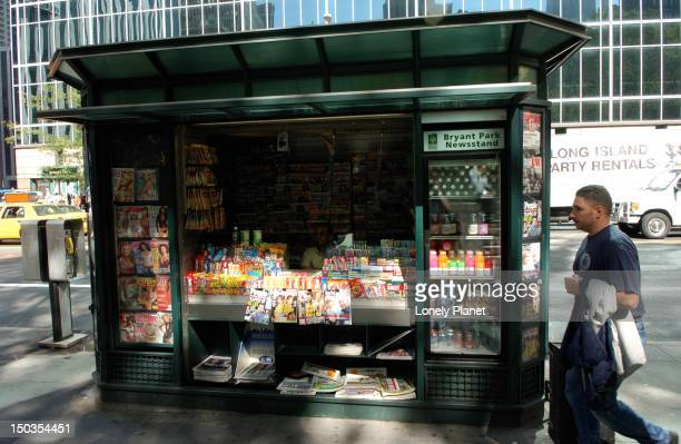 Newsstand/kiosk, Manhattan.