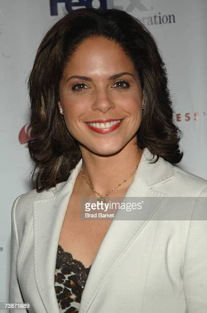 Newswoman Soledad O'Brien attends the Dress for Success 10th Anniversary Gala at the Marriott Marquis Hotel on April 12 2007 in New York City