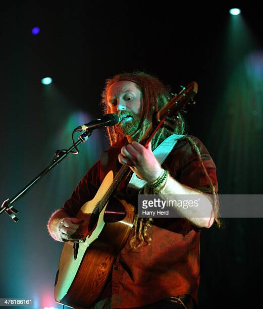 Newton Faulkner performs at Portsmouth Guildhall on March 2 2014 in Portsmouth England
