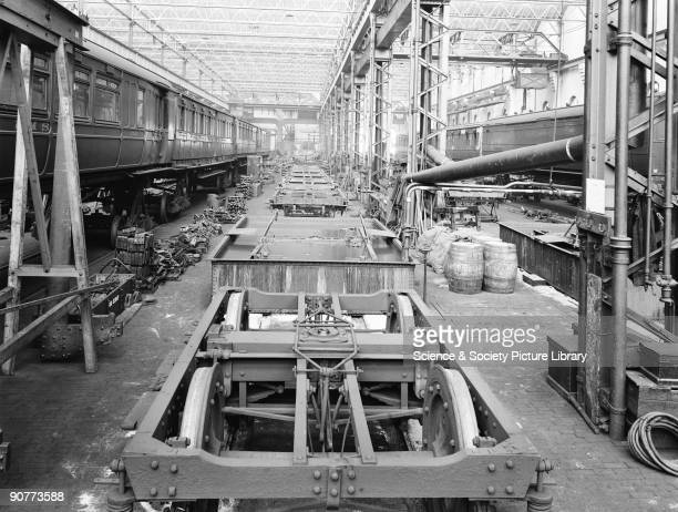 Newton Heath carriage works opened in 1877 producing and repairing carriages and wagons for the Lancashire Yorkshire Railway Carriages and wagons...