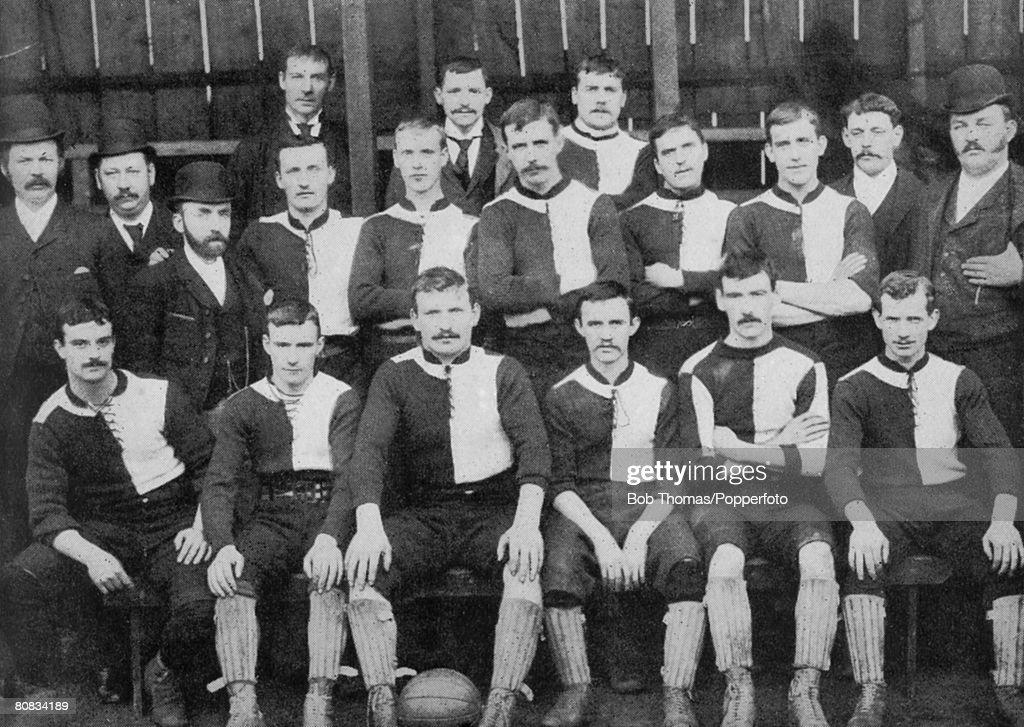 Newton Heath 1892 : News Photo