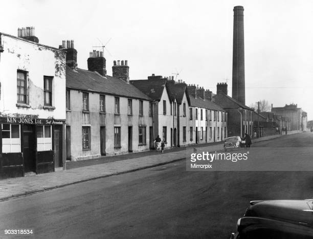 Newtown was a residential area of Cardiff Wales that existed from the midnineteenth century until it was demolished in 1970 Pictured a street scene...