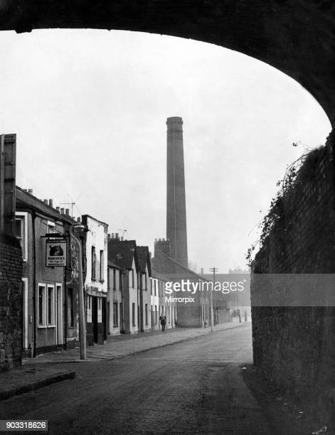 Newtown was a residential area of Cardiff Wales that existed from the midnineteenth century until it was demolished in 1970 Pictured Tyndall Street...
