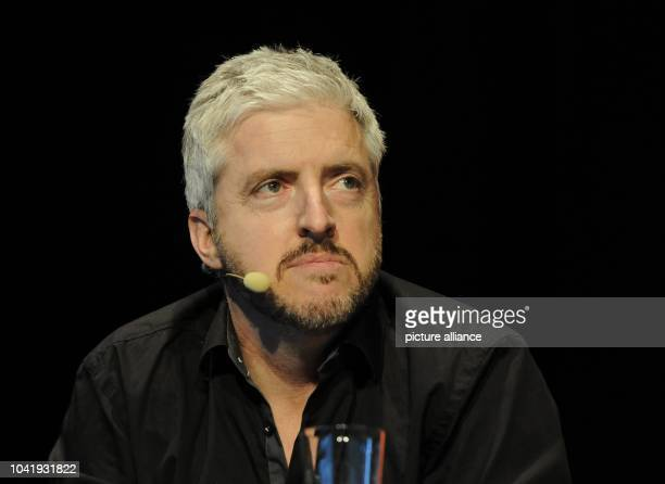 NewZealand author and filmmaker Anthony McCarten reads at the literature festival litCologne in Cologne Germany 20 March 2014 Photo...