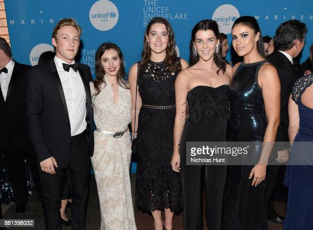 Next Generation attends the 13th Annual UNICEF Snowflake Ball 2017 at 60 Wall Street Atrium on November 28 2017 in New York City