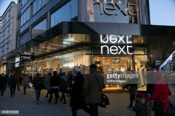 Next store seen in London famous Oxford street Central London is one of the most attractive tourist attraction for individuals whose willing to shop...