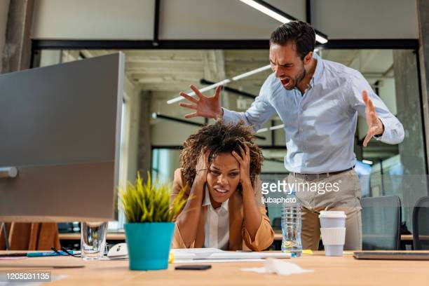 next time you mess up, you're out! - evil stock pictures, royalty-free photos & images
