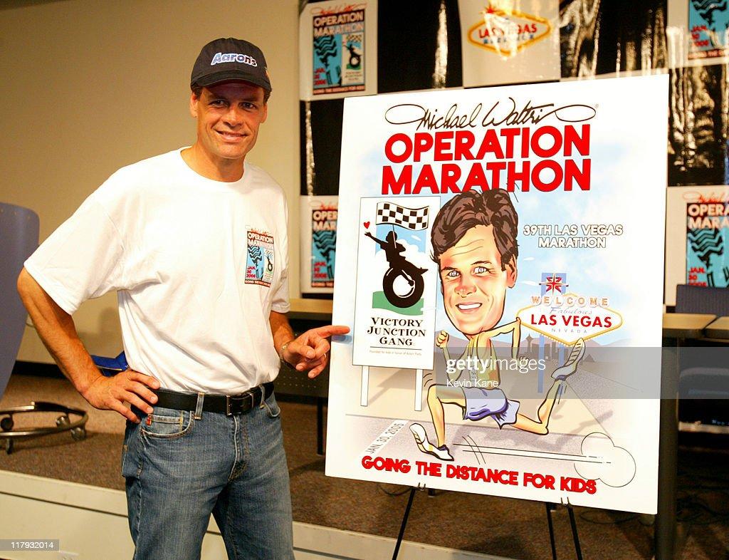"NASCAR Nextel Cup Driver Michael Waltrip Begins ""Operation Marathon Campaign"""