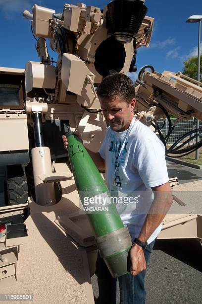 Nexter Subsidiary In Toulouse France On September 09 2010Visit of laboratories and research department of Nexter equipment company dedicated to...