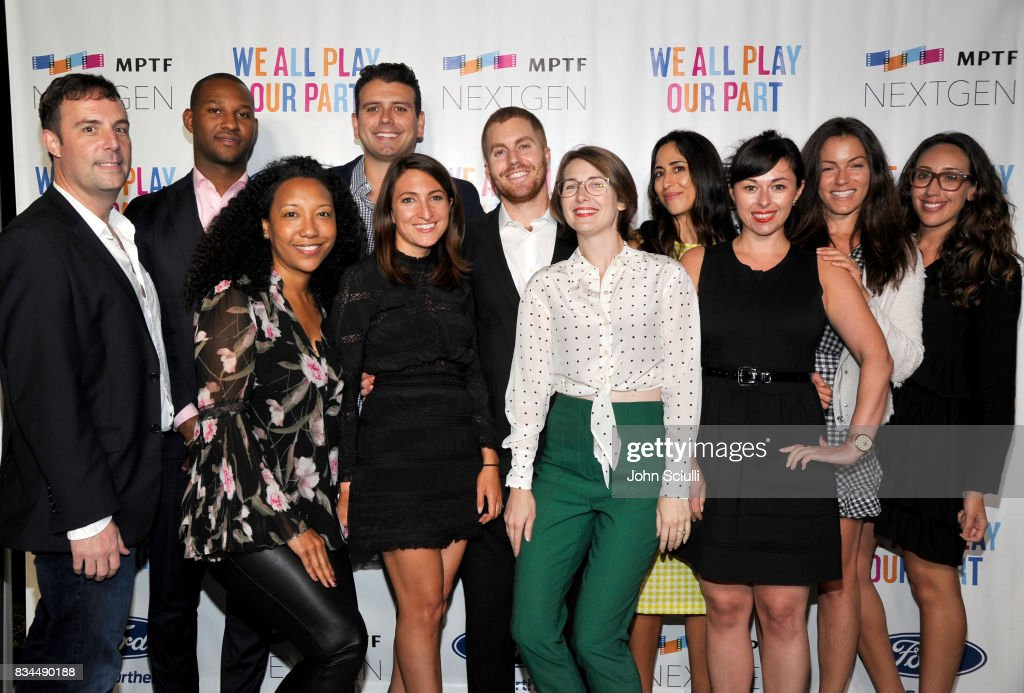 NextGen Board attends MPTF's NextGen Summer Party presented by Ford Motor Company and hosted by Jeffrey Katzenberg at NeueHouse Los Angeles on August 17, 2017 in Hollywood, California.