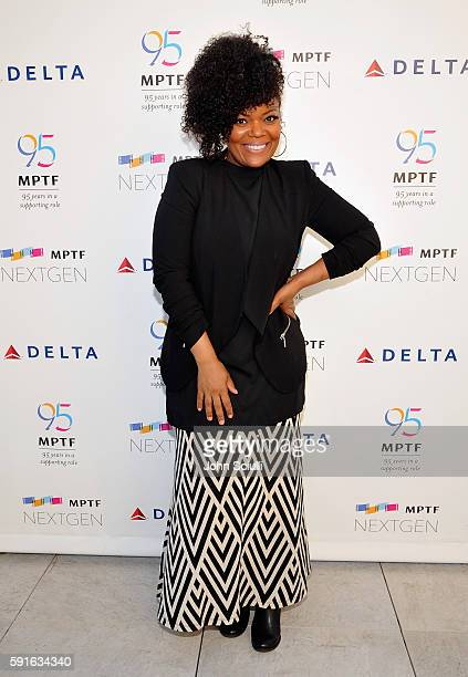 NextGen Board Member Yvette Nicole Brown attends MPTF NextGen Launch Event at NeueHouse Los Angeles on August 17 2016 in Hollywood California