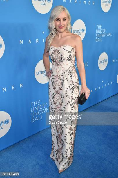 NextGen CoChair Sterling McDavid attends 13th Annual UNICEF Snowflake Ball 2017 at Cipriani Wall Street on November 28 2017 in New York City