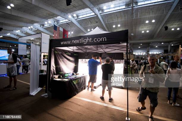Nextlight shows off their grow lights at the Southern Hemp Expo at the Williamson County Agricultural Exposition Park in Franklin TN on Friday Sept 6...