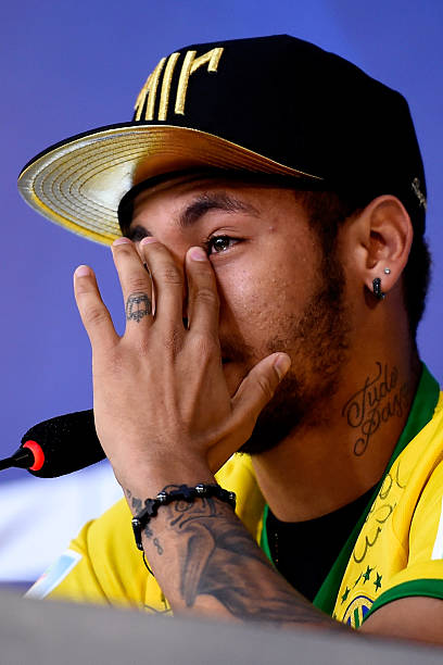 BRA: Brazil Training Session and Press Conference - 2014 FIFA World Cup