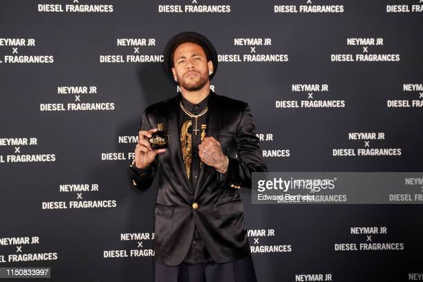 Neymar attends Diesel 'Spirit of the Brave' Perfume Launch Party at Salle Wagram on May 21 2019 in Paris France