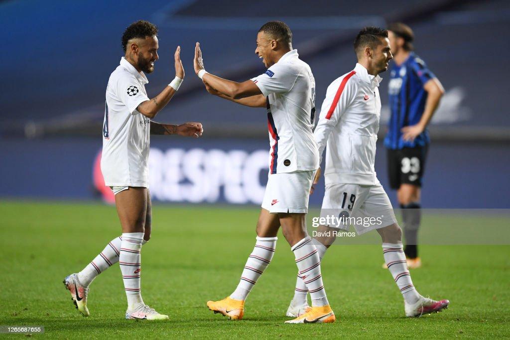 Atalanta v Paris Saint-Germain - UEFA Champions League Quarter Final : News Photo