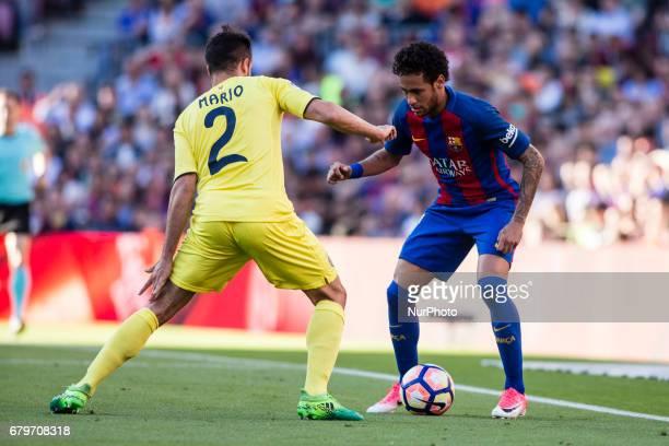 Neymar da Silva of FC Barcelona during the Spanish championship Liga football match between FC Barcelona vs Villareal at Camp Nou stadium on May 6...