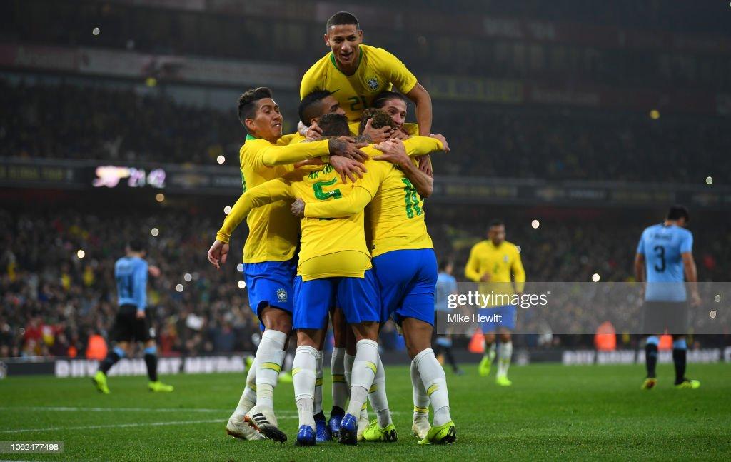 Brazil v Uruguay - International Friendly : ニュース写真