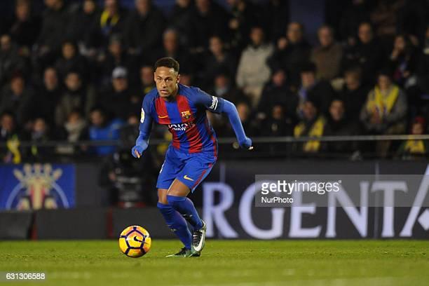 Neymar during the match between Villarreal CF against FC Barcelona week 17 of La Liga 2016/17 in Ceramica stadium Villarreal SPAIN 8th January of 2017