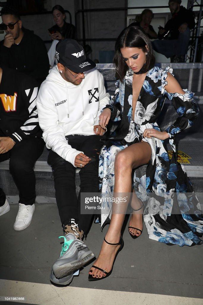 a7ad1a3e58aba neymar jr and his girlfriend bruna marquezine attend the off-white