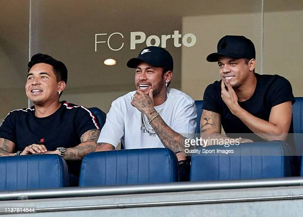 Neymar Jr attends during the International Friendly match between Brazil and Panama at Estadio do Dragao on March 23 2019 in Porto Portugal