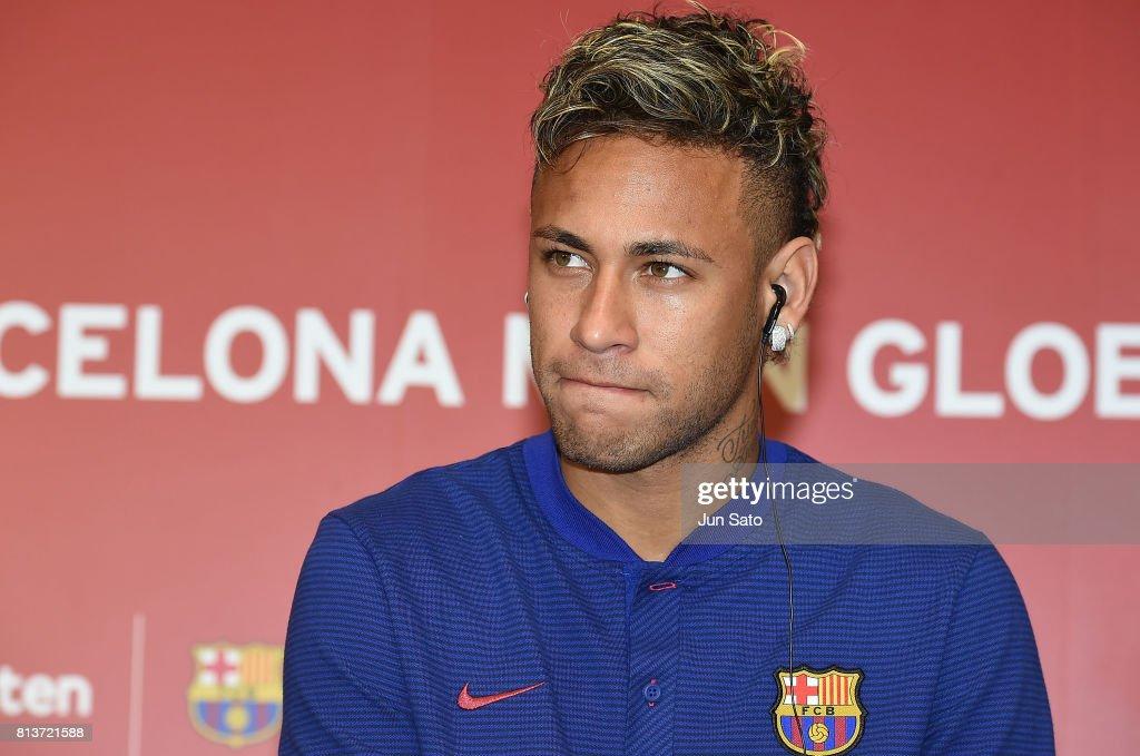 Rakuten - FC Barcelona Global Partnership Launch - Press Conference : News Photo